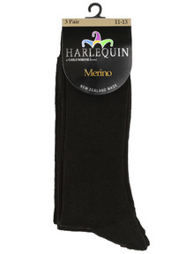 Harlequin Merino Wool Sock, 3-Pack product photo