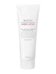 Natio Ageless Dual Action Cleanser and Exfoliator, 75g product photo