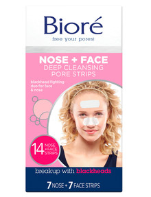 Biore Deep Cleansing Combo Strips, 14-Piece product photo