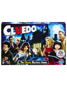 Hasbro Games Cluedo The Classic Mystery Game product photo