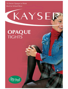 Kayser 70D Opaque Tight Black product photo