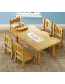 Sylvanian Families Family Table & Chairs product photo
