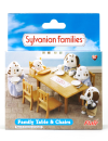 Sylvanian Families Family Table & Chairs product photo  THUMBNAIL
