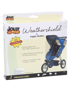 Jolly Jumper Storm Cover for 3-Wheel Stroller product photo