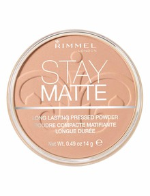 Rimmel Stay Matte Pressed Powder - Silky Beige product photo