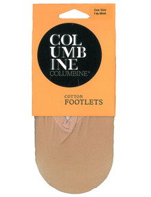 Columbine Cotton Blend Footlets product photo