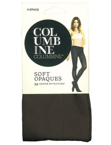 Columbine Soft Opaques, 50 Denier Pantyhose product photo