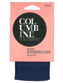 Columbine Sheer Knee-Highs, 15 Denier product photo