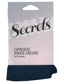 Secrets Opaque Knee-High, 50 Denier product photo
