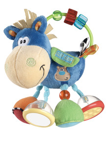 Playgro Clip Clop Activity Rattle, Boy product photo