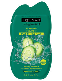 Freeman Feeling Beautiful Renewing Cucumber Peel-Off Gel Mask 15ml product photo