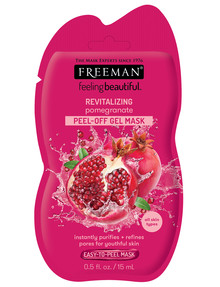 Freeman Feeling Beautiful Revitalizing Pomegranate Peel Off Gel Mask 15ml product photo