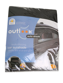 Outlook Auto Shade, Round product photo