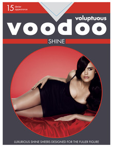 Voodoo Voluptuous Shine Pantyhose, 15 Denier product photo