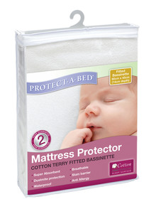 Protect-A-Bed Terry Bassinet Mattress Protector product photo