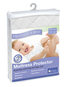 Protect-A-Bed Quilted Cot Mattress Protector product photo