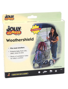 Jolly Jumper Storm Cover for 4-Wheel Stroller product photo