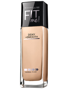 Maybelline Fit Me Foundation Liquid Dewy & Smooth in Classic Ivory, 30 ml product photo