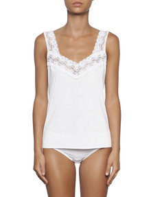 Essence Lace V-Neck Singlet product photo