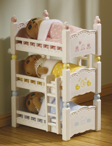Sylvanian Families Triple Bunk Beds product photo