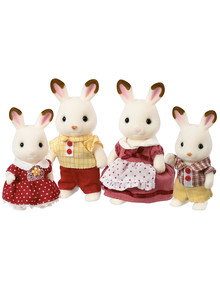 Sylvanian Families Chocolate Rabbit Family product photo