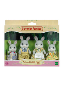 Sylvanian Families Cottontail Rabbit Family product photo