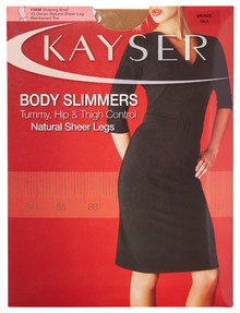 Kayser Body Slimmers Sheer Legs Pantyhose, 15 Denier, Natural product photo