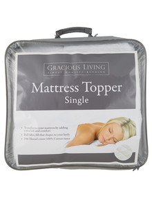 Gracious Living Mattress Topper product photo