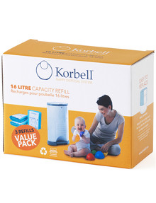 Korbell 3-Pack Refill product photo