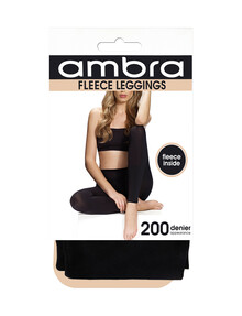 Ambra Fleece Opaque Legging, 180 Denier product photo
