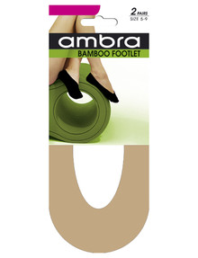 Ambra Bamboo Footlet, 2-Pack product photo