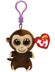 Ty Beanies Boos Clip-On Coconut Monkey product photo