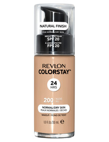 Revlon ColorStay Makeup With Time Release For Normal or Dry Skin - Nude product photo
