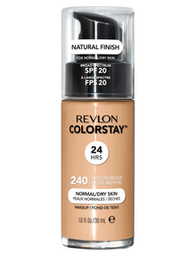 Revlon ColorStay Makeup With Time Release For Normal or Dry Skin - Medium Beige product photo