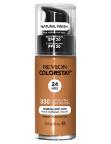 Revlon ColorStay Makeup With Time Release For Normal or Dry Skin - Natural Tan product photo