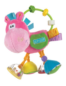 Playgro Clip Clop Activity Rattle, Girl product photo