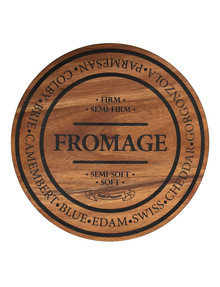 Salt&Pepper Fromage Round Wooden Cheese Board 28cm product photo