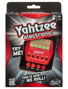 Hasbro Games Electronic Handheld Yahtzee product photo
