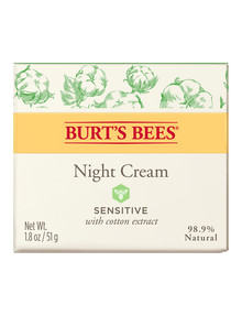 Burts Bees Sensitive Night Cream, 50g product photo