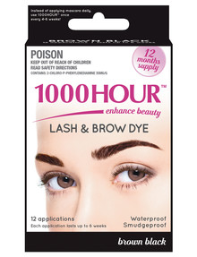 1000HR Lash & Brow Dye Kit - Brown/Black product photo