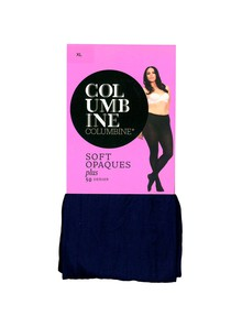 Columbine Plus Opaque Tight, 50D, Navy product photo