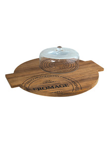 Salt&Pepper Fromage Round Board with Dome, 40cm product photo