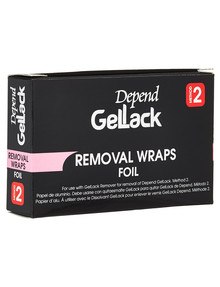 Gellack Removal Wraps product photo
