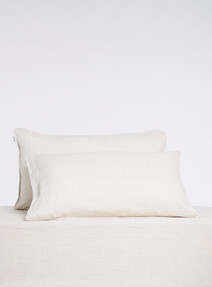 Domani Toscana Standard Pillowcases (Pair), Linen product photo