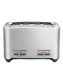 Breville Smart Toast 4 Slice Toaster, BTA845 product photo