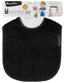 Mum 2 Mum Wonder Bib, Black product photo