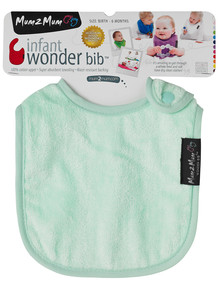 Mum 2 Mum Infant Wonder Bib, Mint product photo