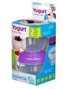 Sistema To Go Yoghurt Pods, Set-of-2, 150ml, Assorted Colours product photo  THUMBNAIL