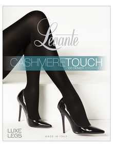 Levante Cashmere Touch Tight, Nero (Black) product photo