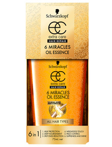 Schwarzkopf Extra Care Hair Repair 6 Miracles Oil Essence, 75ml product photo